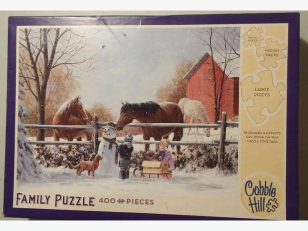 COBBLE HILL JIGSAW PUZZLES - NO MISSING PIECES