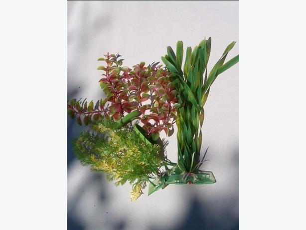 fish tank artificial plants ,