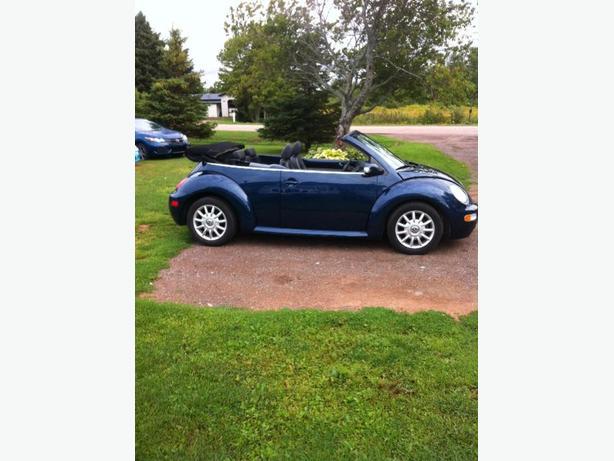 04 VW  beetle convertable