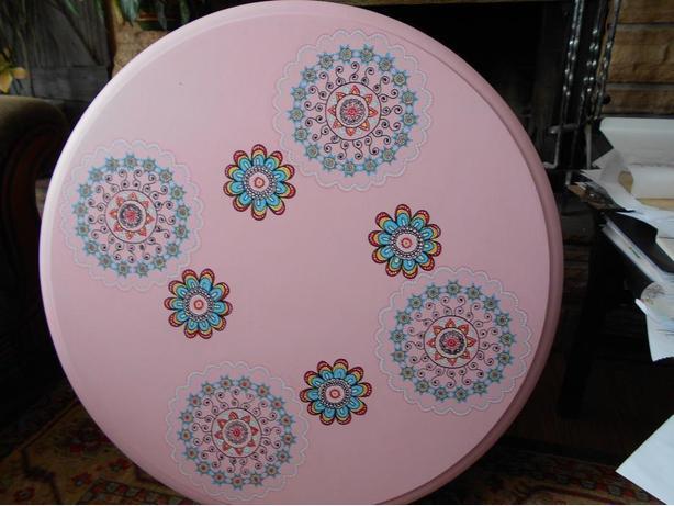 boho dining table