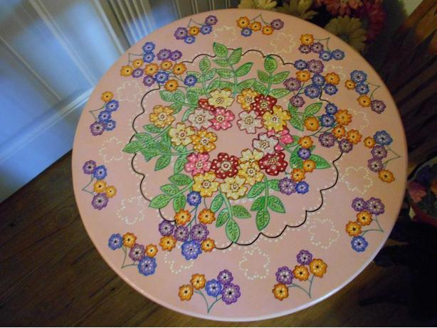 boho occassional table