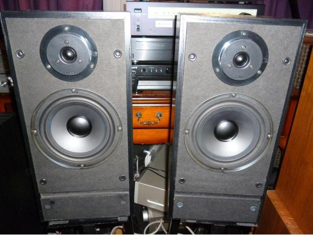 Vintage Linn Index Series 2 Stereo Bookshelf Speakers Scottish