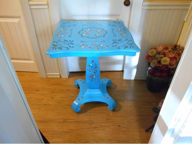 boho occassional table