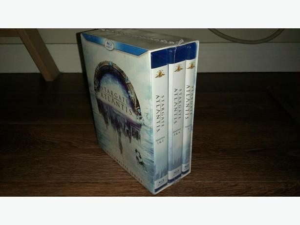 NEW STARGATE ATLANTIS COMPLETE SERIES (Blu-ray) for resale