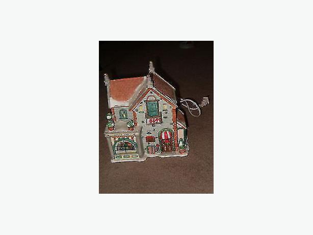 Christmas , village house ceramic building