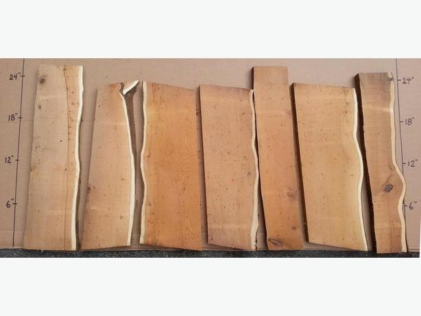 PACIFIC YEW LIVE EDGE BOARDS for sale