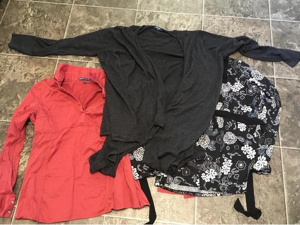 Large/xl maternity shirts
