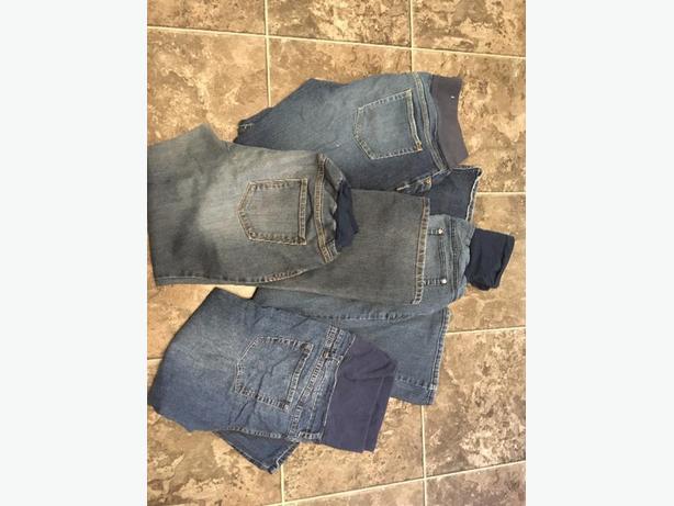 lg/xl maternity jeans