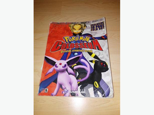 Brady Games Pokemon Colosseum Strategy Guide for Gamecube