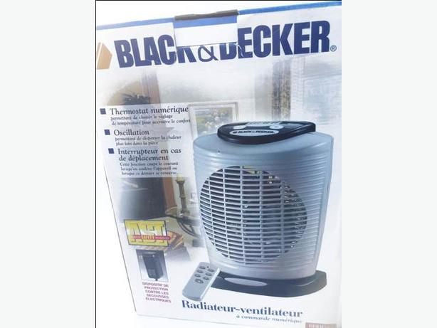 NEW Black and Decker Heather Fan  Digital Temp Control