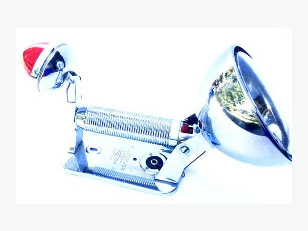 Chrome Sportsman LANTERN RAY -O- VAC from 1940's