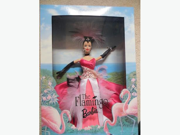 Flamingo Barbie - REDUCED