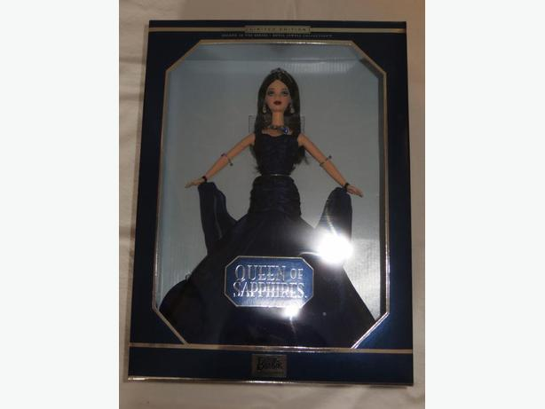 Queen of Sapphires Barbie Doll - REDUCED