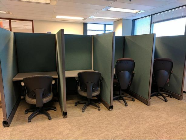 Gently Used Cubicles