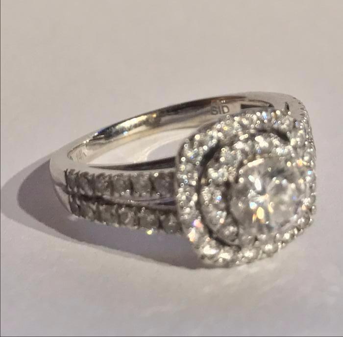 stunning engagement ring set east