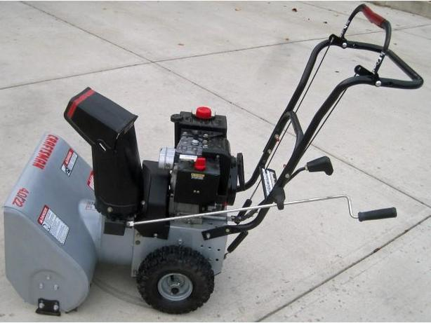Snow Thrower - Craftsman Dual Stage