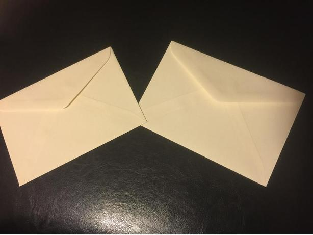 "500pcs invitation enveloupe 4-1/2"" x 6-5/8"" NEW"