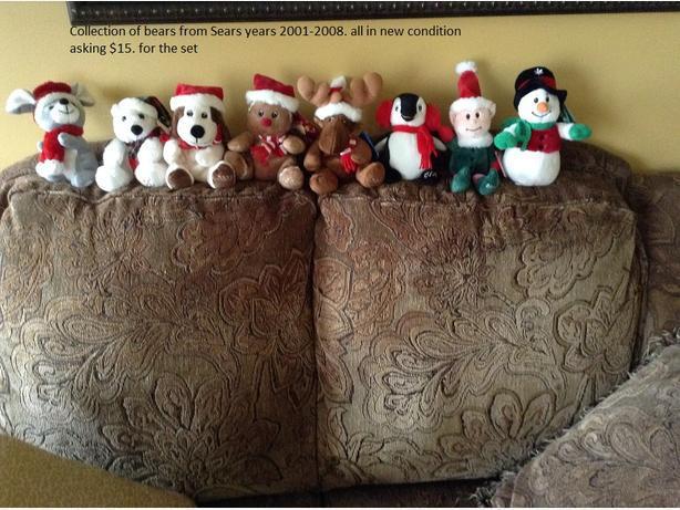 Sears bear collection
