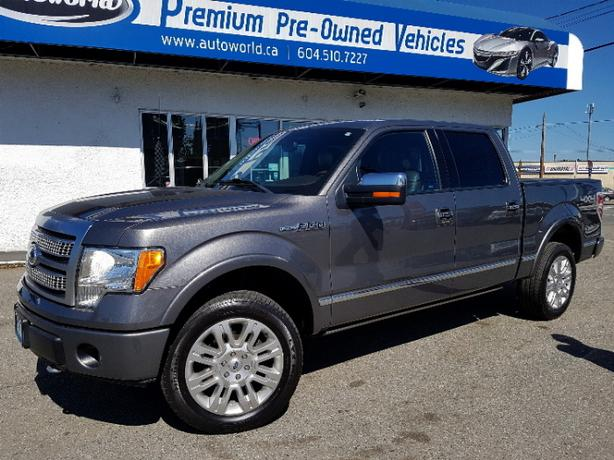 2010 Ford F150 Platinum Super Crew 4WD