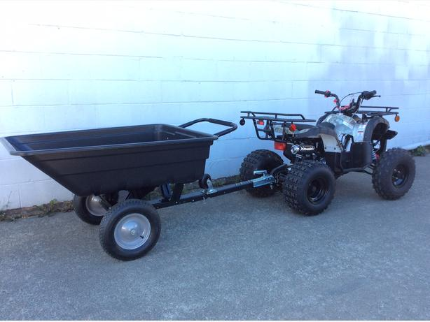 125cc Premium ATV 3 speed with Trailer Optional