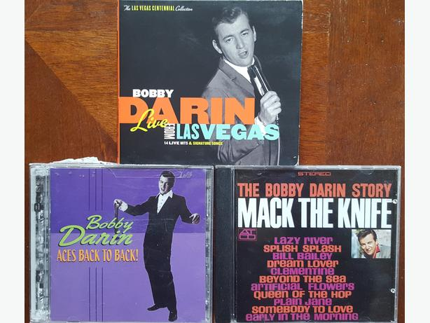 CDs FOR SALE BOBBY DARIN COLLECTION 3 CDs 1 w/ DVD Blues and Jazz