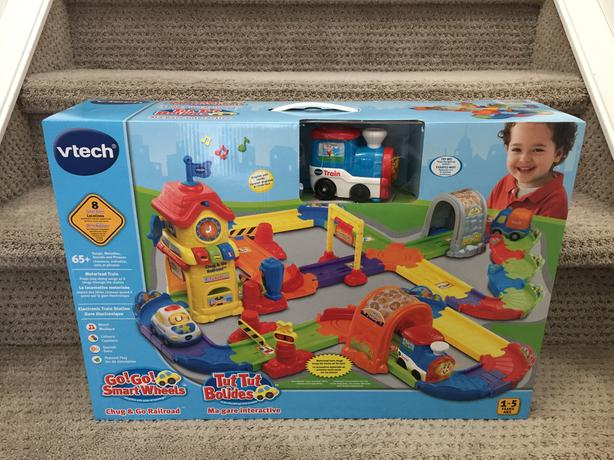 ===Unopened===Vtech Train Play Set $30 (NEW) Firm
