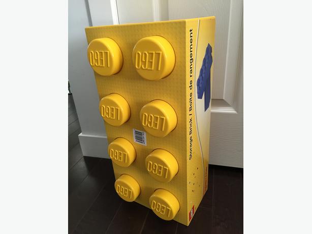 ((Unopened)) Cool Stackable LEGO storage bricks $20 (Yellow)