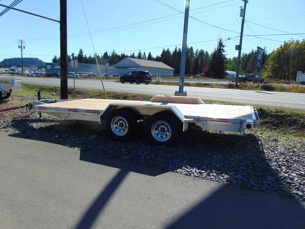 7x16 7000gvw Flat Deck/ Car Hauler