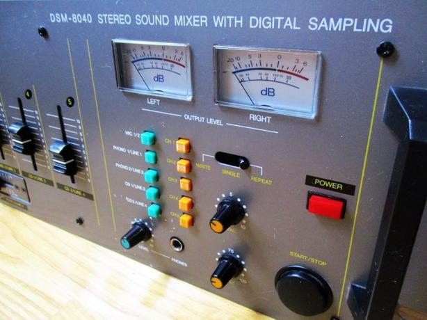 Mixer ~ 5 Channel w/ Digital Sampling