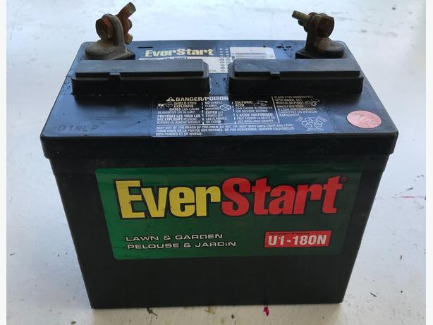 Everstart Lawn And Garden Battery Fasci Garden