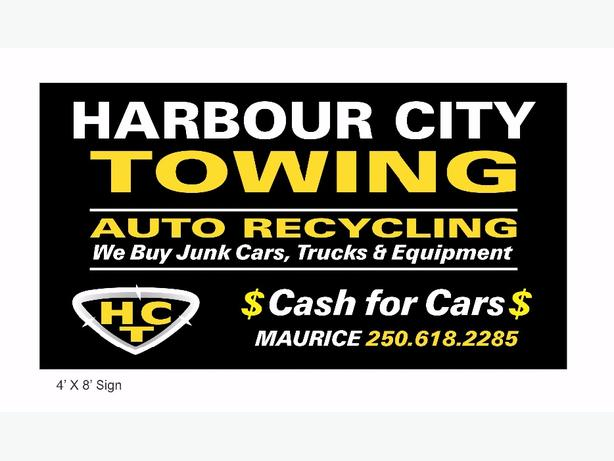 Towing sevices and scrap car removal