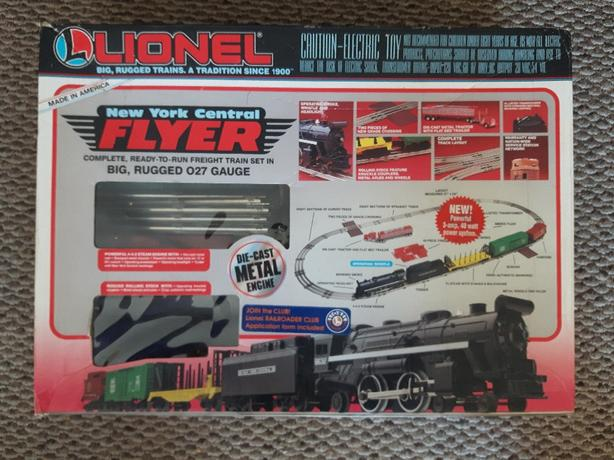 Lionel New York Flyer Train Set