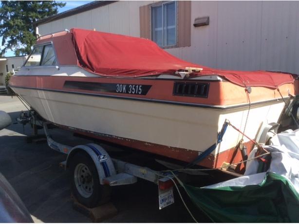 Campion hard top boat & easy load trailer.