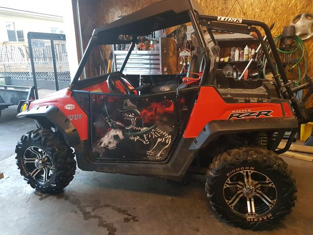 SOLD 2012 RZR Excellent Shape $9500.00 TOTAL WITH TAX