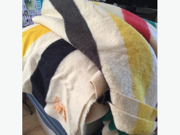 Vintage Hudson Bay Blankets