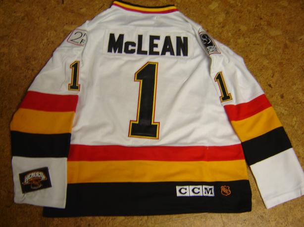 AUTHENTIC NHL KIRK MacLEAN NHL CANUCKS JERSEY