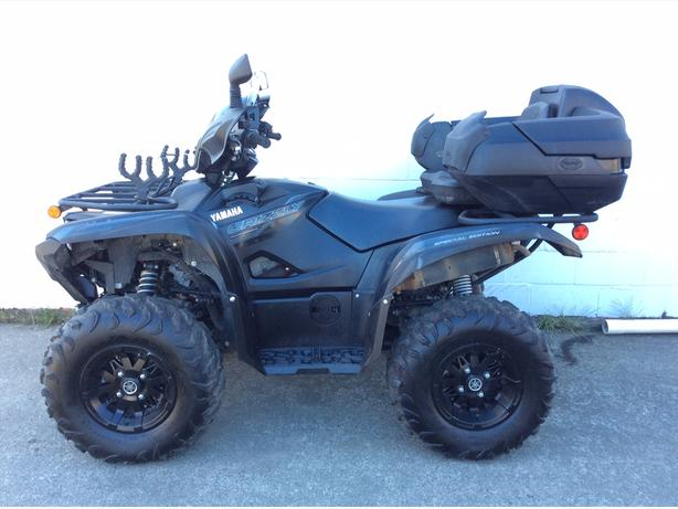 2016 Yamaha Grizzly 700-power-steering special edition. Low Hours!