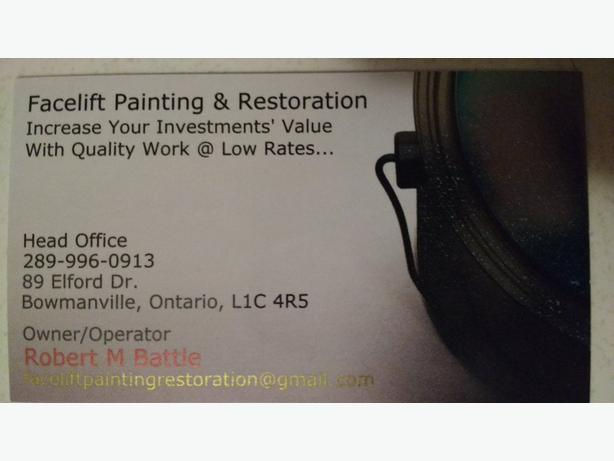 Facelift Painting & Restoration
