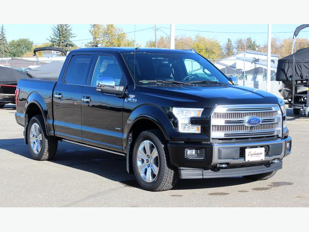 2017 Ford F-150 Platinum SuperCrew 4x4 Ecoboost