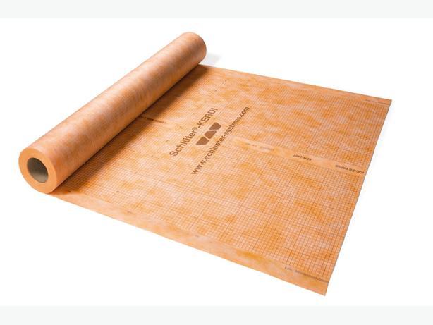 Kerdi waterproof membrane