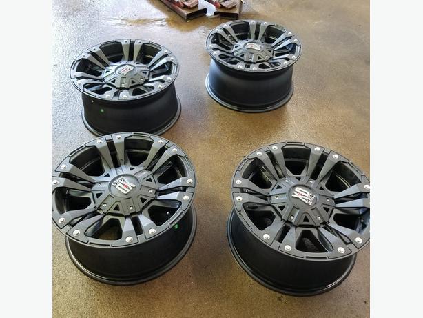 18 inch Xd Monster 2 wheels $1500 OBO