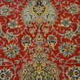 15068-Isfahan Hand-knotted/Handmade Persian Rug/Carpet Traditional Authentic