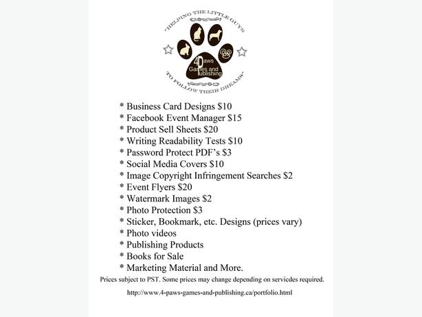 A Variety of Services and Christmas Ideas