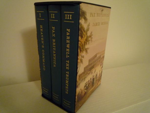 Folio Society - Pax Britannica 3 Volume set in slipcase