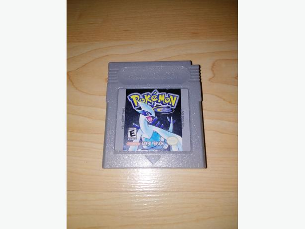 Pokemon Silver Version For The Nintendo Gameboy - NEW BATTERY