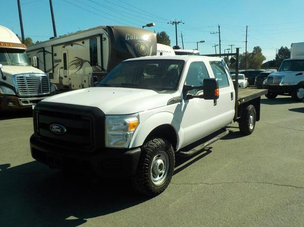 2012 Ford F-350 SD XL Crew Cab 4WD 8 Foot Flat Deck