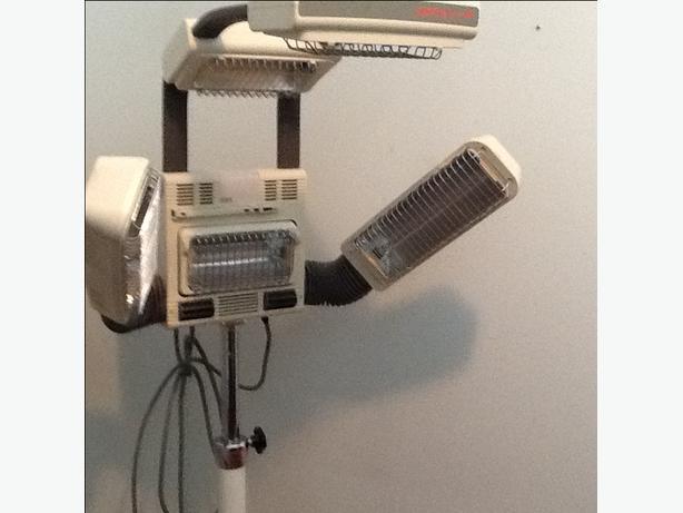 hair salon infared heat lamp