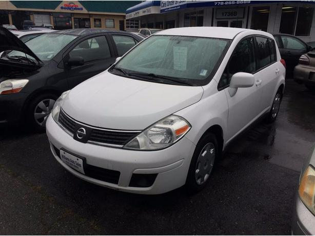 BLOW OUT SALE2009  Nissan Versa 4dr Hb Williams Colwood 778 265 8689