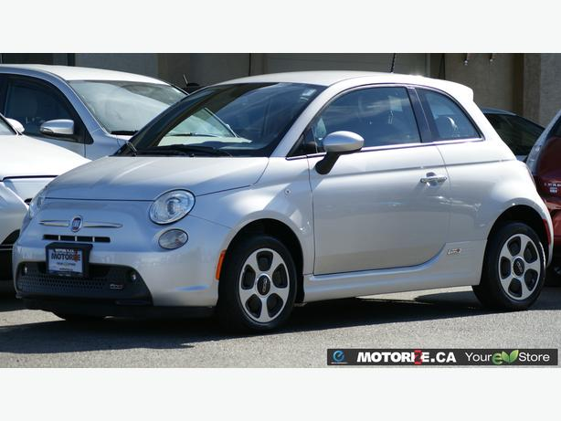 2014 Fiat 500E – Navigation – Bluetooth Handsfree Calling – 29,190Kms STK#M8612