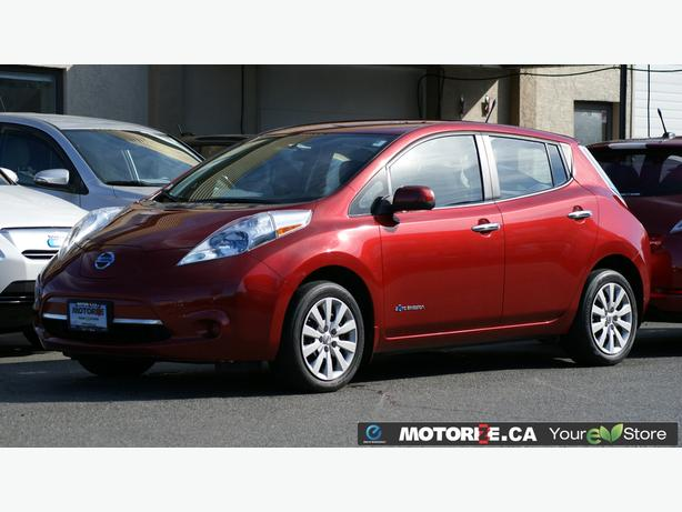 2014 Nissan LEAF S - Quick Charge Package - Backup Camera - STK#M8617
